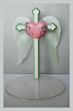 Display stand figure doll 1:12 1/7 1/6 angel wing heart pink cross diorama peana