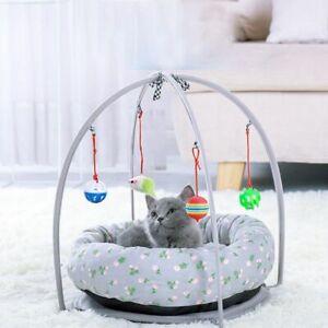 Bed Pet Dog Cat Warm Soft Hammock Mat Sleeping Plush Calming Puppy Cushion