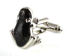 Men's Cufflinks 3D Frog Cuff links  19mm  3354