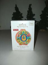 HALLMARK FISHER PRICE SEE N SAY THE ZOO KEEPER SAYS ORNAMENT TOY REPLICA MAGIC