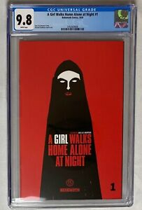 A Girl Walks Home Alone at Night #1 CGC 9.8 WHITE pages 1st Printing 2020 Comic