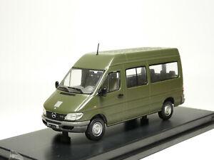 Eligor 112447 1/43 Mercedes-Benz Sprinter Swiss Army Diecast Model Truck Van