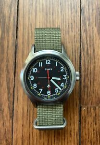 Timex x Todd Snyder Men's Military Field Watch NWT with Extra NATO Strap