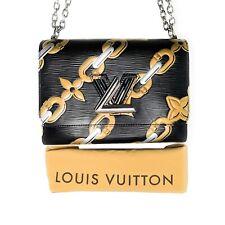 Louis Vuitton EPI Chain Flower Print Twist MM Cross-body Bag