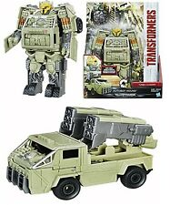 The Last Knight - Two-Step Turbo Changer Figure (Autobot Hound) - Transformers F