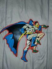 "Dc Comics Batman & Robin Metal Tin Wall Sign ~Size Approx 11"" x 13""~ Decor"