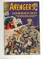 Avengers #14 1965 ORIGINAL TEAM VG+ 4.5 Captain America, Iron Man, Thor! Marvel