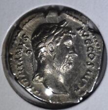 117-138Ad Silver Denarius Lot 121