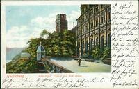 Ansichtskarte Heidelberg Achteckiger Turm mit dem Altan 1904  (Nr.9008)