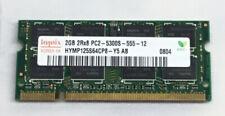 HYMP325S64AMP8-Y5 AB-A Hynix 2GB 2RX8 PC2-5300S-555-12 Laptop memory SODIMM