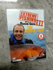 Extreme Fishing With Robson Greene 3 (DVD, 4-Disc set, Region 4) GF6