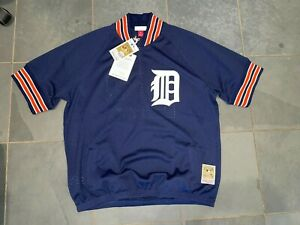 NWT 1995 DETROIT TIGERS #23 KIRK GIBSON Mitchell & Ness Jersey LG