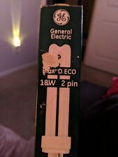 11- F18DBX/835/ GENERAL ELECTRIC BIAX D ECO 18W 2 PIN G24-2 COMPACT FLOURESCENT