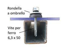 Fissaggi per lastre in policarbonato compatto