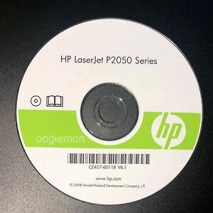 Setup CD ROM for HP LaserJet P2050 Series Software