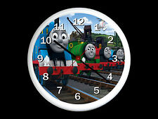 Thomas The Tank Engine Wall Clock Can be Personalised