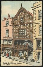 Chester. God's Providence House by Lewin. Card by E.W. Savory Ltd., Bristol.
