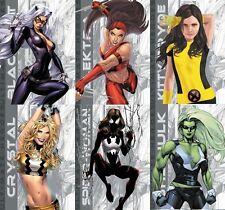 2011 Marvel Universe, 2012 Greatest, 2013 Women: FULL ULTIMATE HEROES SET UH1-29