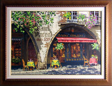 "Viktor Shvaiko ""Summer in Provence"" Hand Signed with custom frame Make an Offer"