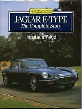 JAGUAR E-TYPE THE COMPLETE STORY NEW CROWOOD 1990 HARD COVER BOOK / OFFER?