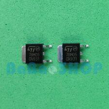 10pcs 78M05 MC78M05 LM78M05 Voltage Regulators 0.5A 5V SMD D-PAK ST Brand New