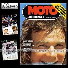 MOTO JOURNAL N°248 HÄGGLUND SIMONINI 125 BARRY SHEENE CROSS ZDENEK VELKY 1976
