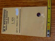 """M.V. Product Lenses #414 Headlight Lens Set -- Size 9/32"""" / Red"""