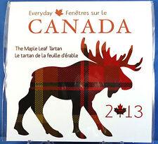2013 Everyday Canada - The Maple Leaf Tartan with Rare Half Dollar Coin Gift Set