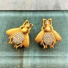 Julie Vos 'Bee' Bee Luxe Earrings - NEW
