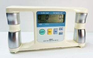 OMRON BODY LOGIC Body Fat Analyzer Model HBF-301 Portable Handheld BMI Tested
