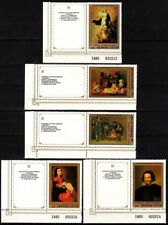 RUSSIA/USSR 1985 ART: Hermitage. Spanish Paintings. LABELED Set, MNH