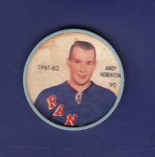 Andy Hebenton 1961-62 Shirriff/Salada Hockey Coins #90