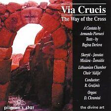 indaugas Zemaitis - Via Crucis (Grazinis, Ckramtai, Aidija Chamber Chorus) [CD]