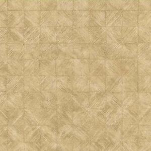 Beige Squares Faux Basket Weave Wallpaper   80-64273