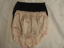 9cbc9ec673 Underscore size 6 Nylon pink black Panty lace waist Panties NWOT