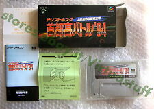 Drift King, Shutokou Battle 94, Nintendo, Super Famicom, JAP, SuperNES. completo