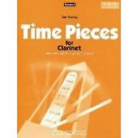 Time Pieces for Clarinet Volume 2 Sheet Music Book Grades 2-3 Ian Denley S67 S35