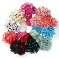 Baby Girl Infant Toddler Cute Flower Headband Cloth Headwear Hair Band