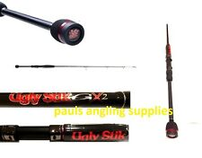 Shakespeare Ugly Stik GX2 4ft 1 pc 8/12lb Fishing Rod Kayak Canoe Boat 1404570