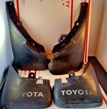 OEM 88-92 Toyota Corolla Mudflaps Splash Guards Set E90 4x4 All Trac Mud Flaps