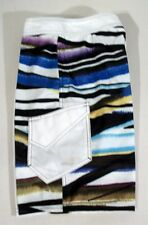 NEW! Size 26 Vast Beach Rays Boys White Purple Black Blue & Yellow Trunks/Shorts