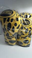Playwell 12 OZ Boxing Gloves Yellow and Black Pre Owned. Excellent Condition