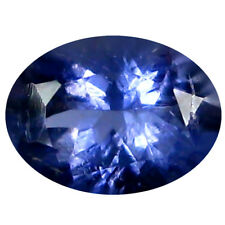 0.66 ct AAA Tremendous Oval Shape (7 x 5 mm) Blue Iolite Natural Loose Gemstone