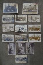 15 Carte-Photo Guerre 14-18 - Militariat - WW1 - Régiments à Identifier