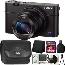 Sony Cyber-shot Dsc-Rx100 Iii Digital Camera + 64Gb Memory Card + Accessory Kit