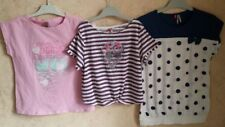 LOT de 3Tee Shirt Orchestra, taille 12 ans manches courtes, rose+violet+blanc