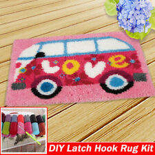 DIY Latch Hook Kits Rug Making Sewing Embroidery Kits Needle Craft Gift