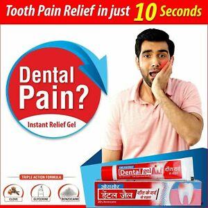Orasore Dental Tooth Pain Relief Gel (Pack Of 3)