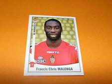 281 CHRIS MALONGA ROCHER AS MONACO LOUIS II PANINI FOOT 2011 FOOTBALL 2010-2011