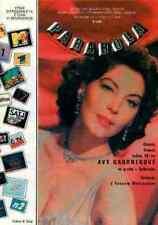 AVA GARDNER SUZANNE VAGE VANESSA PARADIS CHARLOTTE GAINSBOURG - rare magazine
